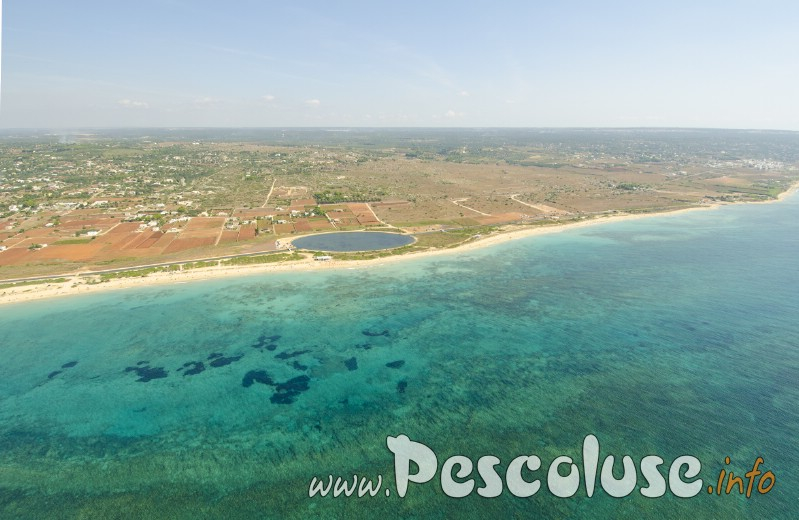 Foto aerea marine di Salve