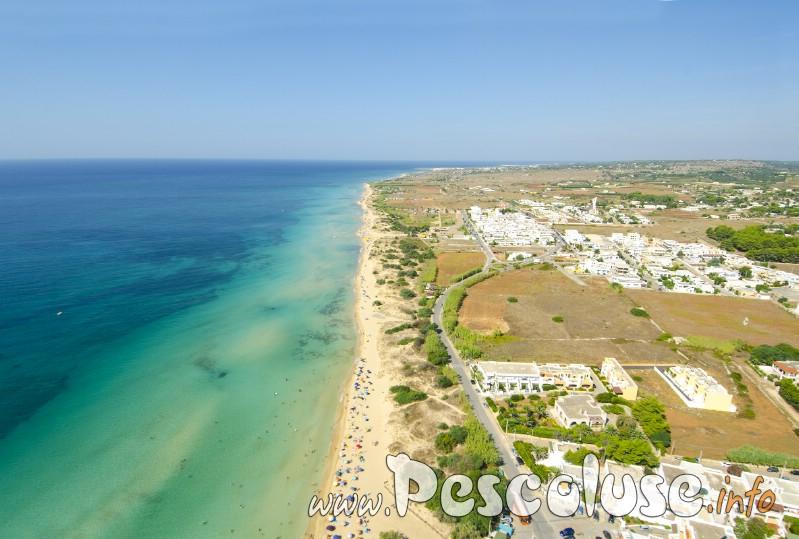 Spiaggia di Pescoluse Salve