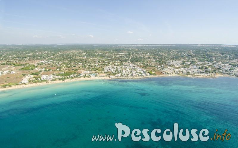 Spiaggia Pescololuse e Torre vado Salento