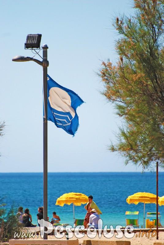 Spiaggia Pescoluse Bandiera Blu