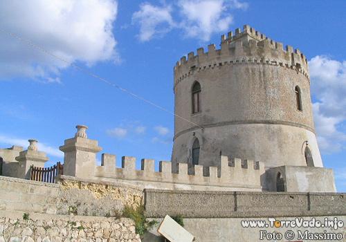 la torre saracena di Torre vado