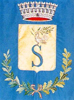 Gonfalone stemma Salve