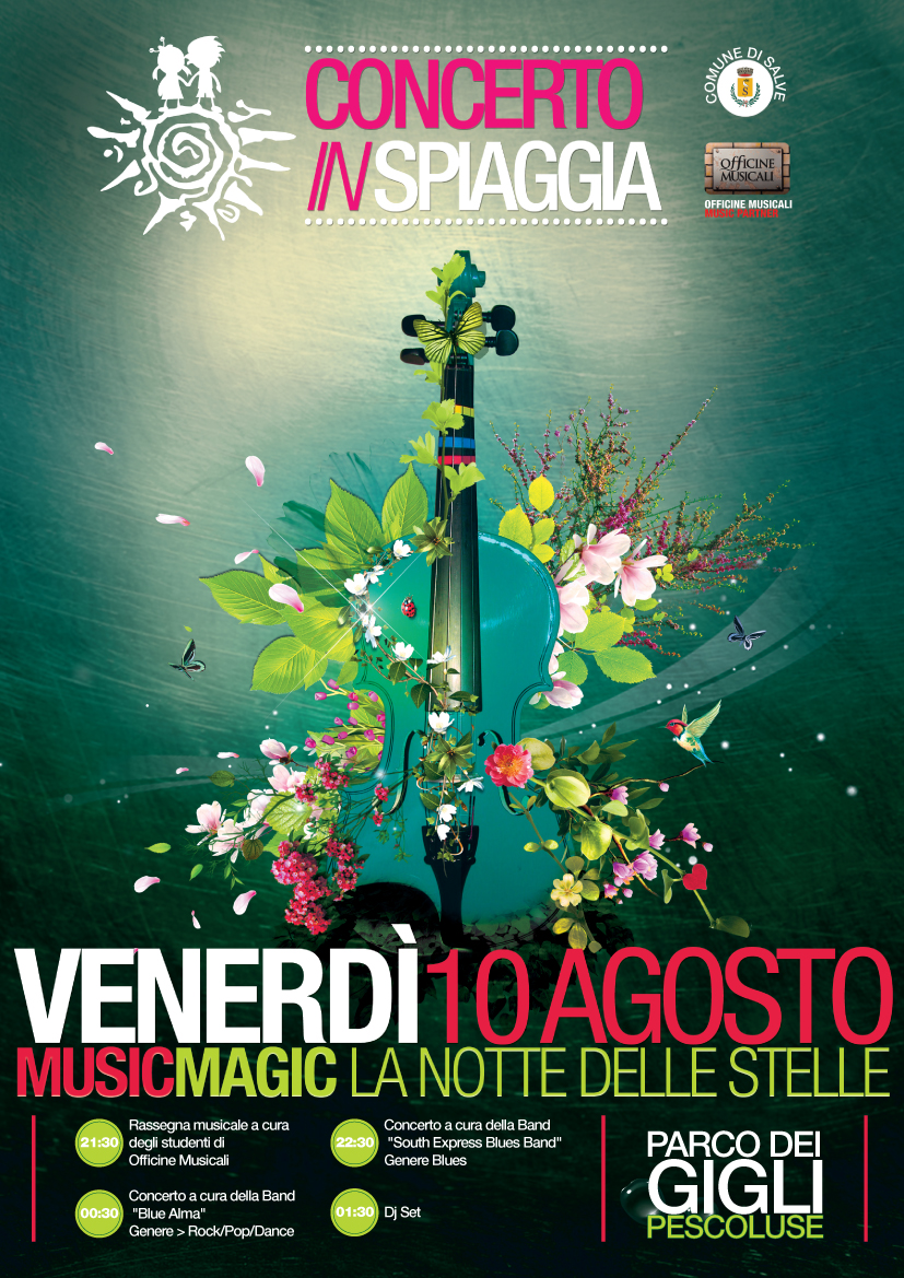 Summer is Crazy - Concerto in Spiaggia Pescoluse 2012